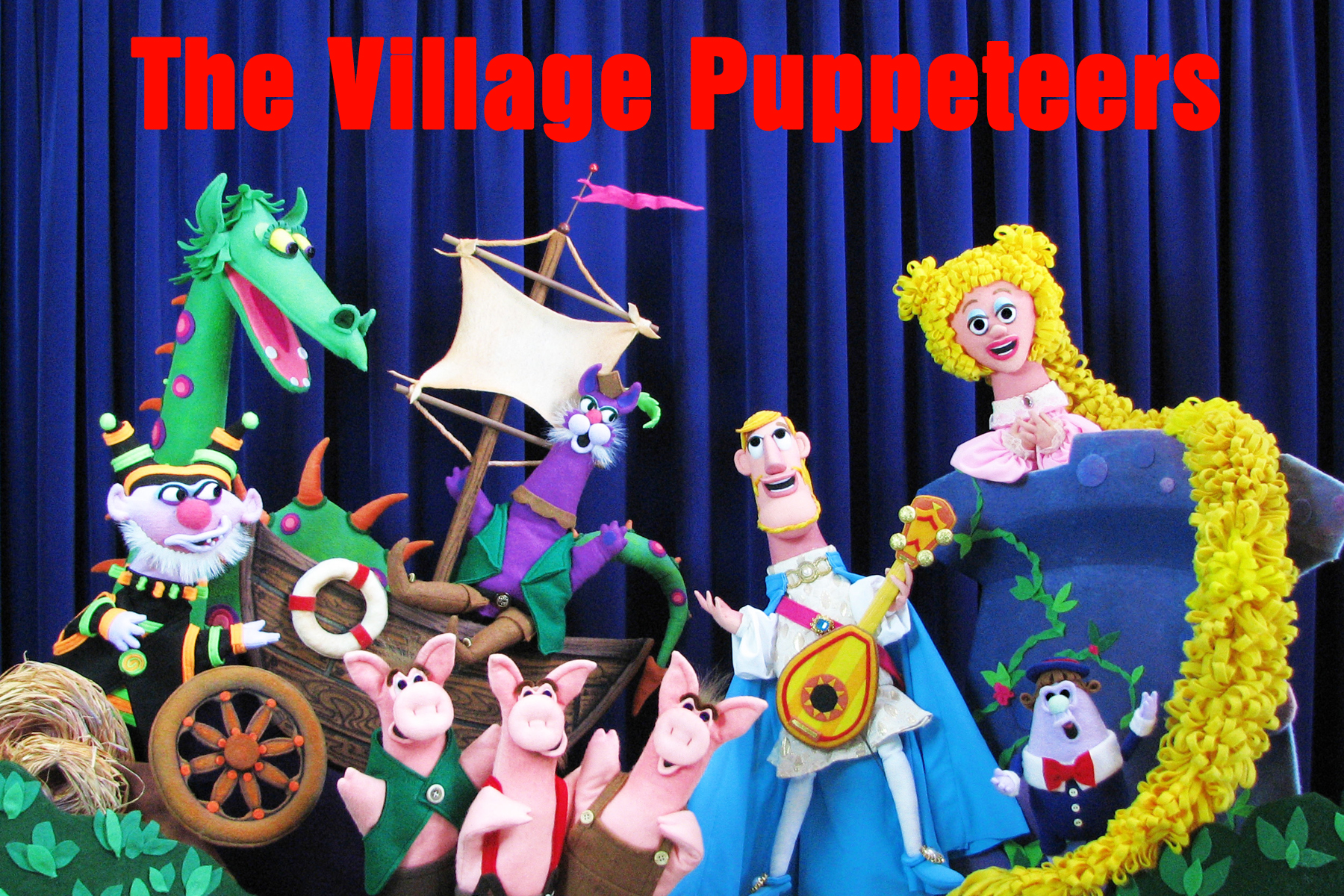 The Village Puppeteers | Arts and Humanities Touring Directory